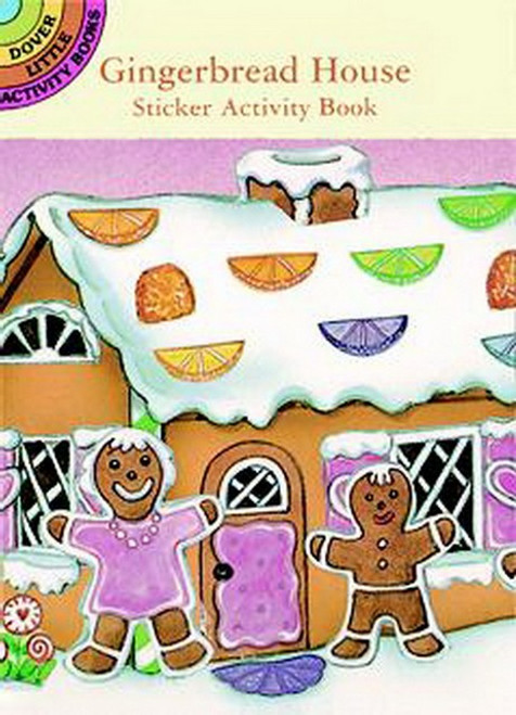 Gingerbread House Activity Sticker Book