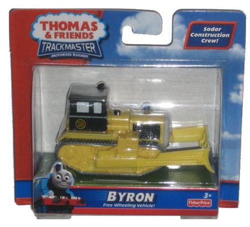 Thomas & Friends TrackMaster Motorized Bulldozer Byron Train Toy - Sodor Construction Crew