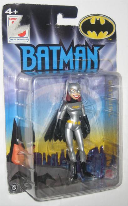 DC Comics Batman Batgirl Silver Costume Mattel Figure