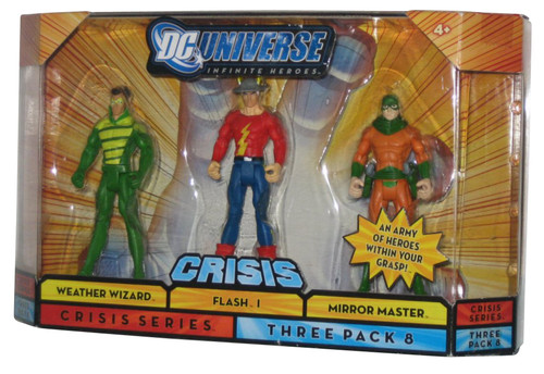 DC Universe Infinite Crisis Heroes 3-Pack Figure Set - (Weather Wizard / Flash / Mirror Master)