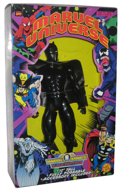 "Marvel Universe Knights Black Panther 10"" Toy Biz Action Figure"