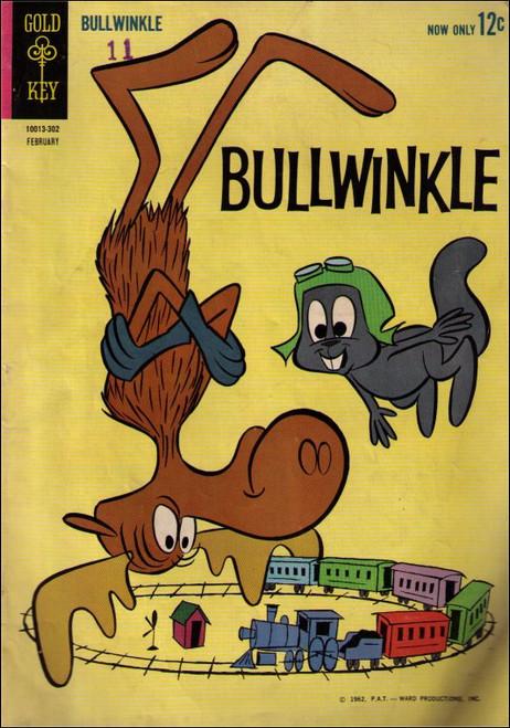 Bullwinkle Goldkey (1963) February 12c Vintage Comic Book