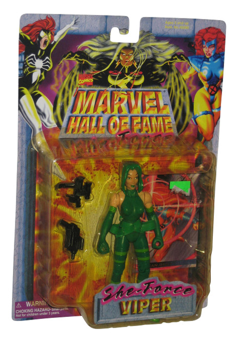 Marvel Comics Hall of Fame She-Force Viper (1997) Toy Biz Action Figure w/ Card