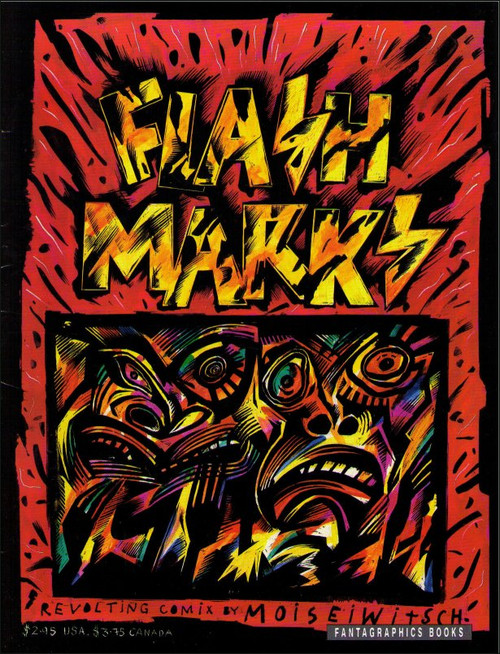 Flash Marks #1 (1989) Paperback Book - (Carel Moiseiwitsch)