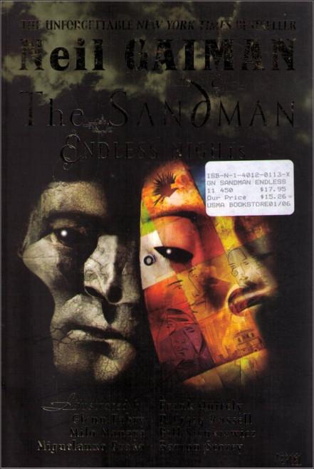 Endless Nights Sandman Vertigo Graphic Novel Book - (Neil Gaiman)