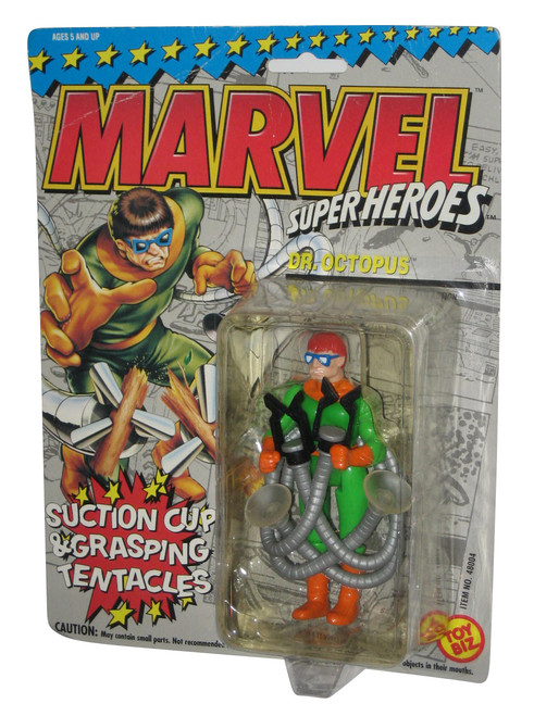 Marvel Super Heroes Dr. Octopus Toy Biz Action Figure - (Suction Cup Grassping Tentacles)