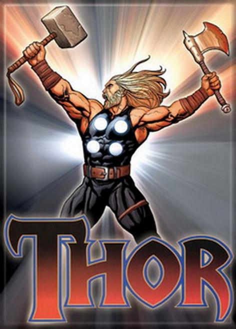 Marvel Comics Thor Red Logo Magnet 20135MV