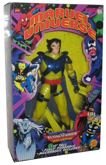 "Marvel Universe Flying Heroes Wolverine 10"" Toy Biz Action Figure"