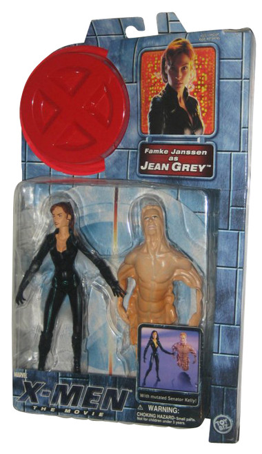 Marvel Comics X-Men Movie Jean Grey & Senator Kelly Toy Biz Figure