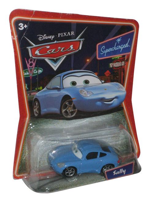Disney Pixar Cars Sally Supercharged Mattel Die-Cast Toy Car - Damaged Plastic