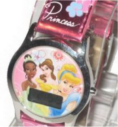 Disney Princess Pink Band Watch 41604A
