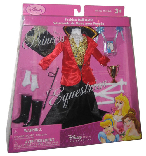 Disney Store Exclusive Fit For A Princess Equestrian Fashion Doll Clothes Outfit