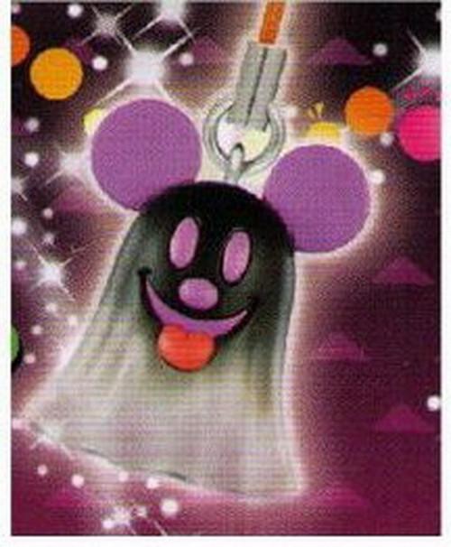 Halloween Mickey Mouse Purple Charm Keychain