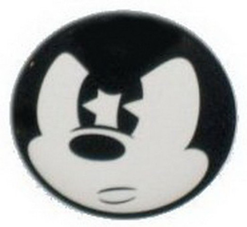 Disney Mickey Mouse Mad Face Button