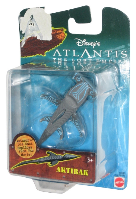 Disney Atlantis The Lost Empire Aktirak Die-Cast Replica Toy Figure