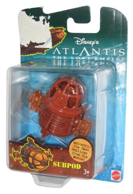 Disney Atlantis The Lost Empire Subpod Die-Cast Replica Toy