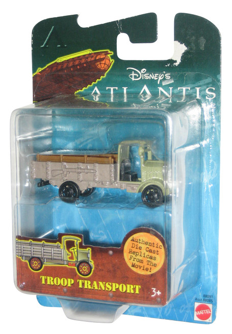 Disney Atlantis The Lost Empire Troop Transport Die-Cast Replica Toy Car