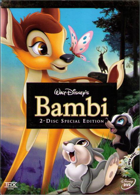 Disney Bambi Two-Disc Platinum Edition (1940) DVD
