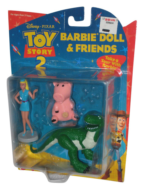 Disney Pixar Toy Story 2 Barbie Doll & Friends Mattel Figure Set