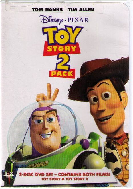 Disney Pixar Toy Story & Toy Story 2 (1999) DVD Box Set (2 Pack)