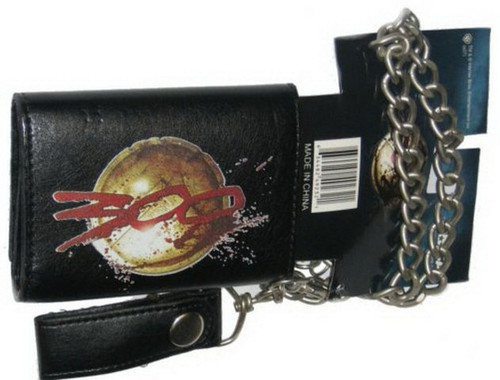 300 The Movie Shield Logo Chain Wallet 49232
