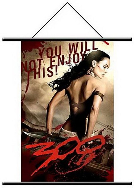300 The Movie Queen of Sparta Gorgo Wall Scroll Poster 49219