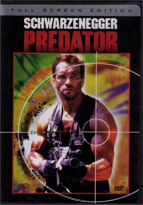 Predator Full Screen Arnold Schwarzenegger DVD