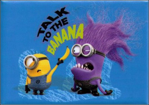 Despicable Me 2 Talk To The Banana Magnet DM5189