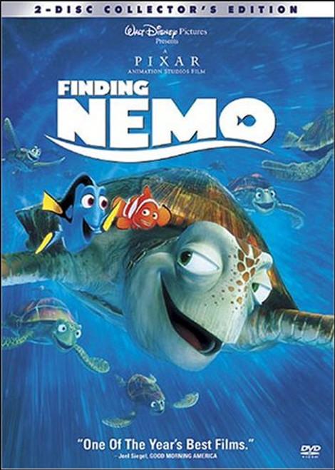 Disney Pixar Finding Nemo 2-Disc Collector's Edition DVD
