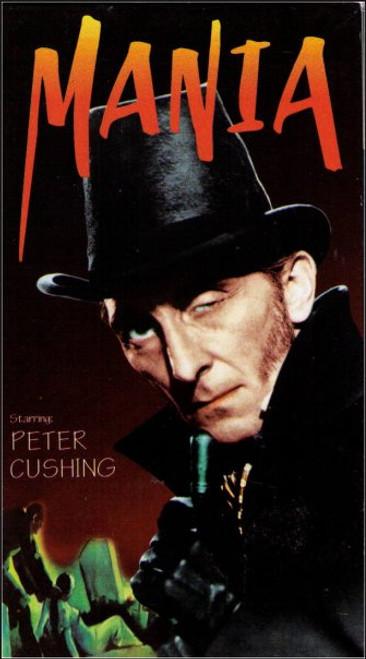 Mania Vintage VHS Tape - (Peter Cushing)