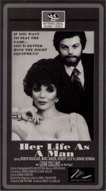 Her Life As A Man (1984) Vintage VHS Tape - (Robyn Douglas)