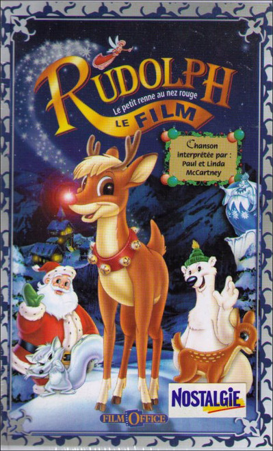 Rudolph The Red-Nosed Reindeer: The Movie Spanish VHS Tape