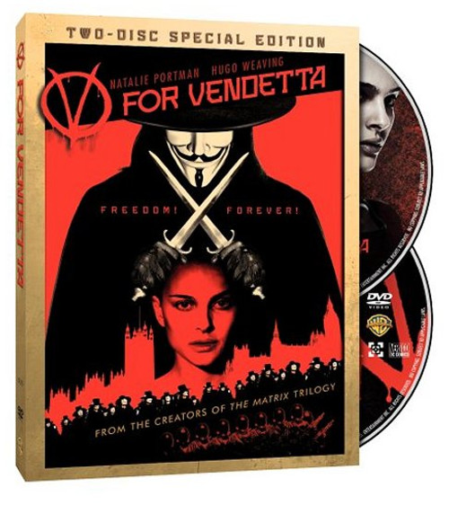 V For Vendetta (Two-Disc Special Edition) (2006) DVD Box Set
