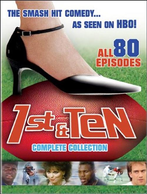 1st & Ten Complete Collection (1984) DVD Box Set - (80 Episodes)