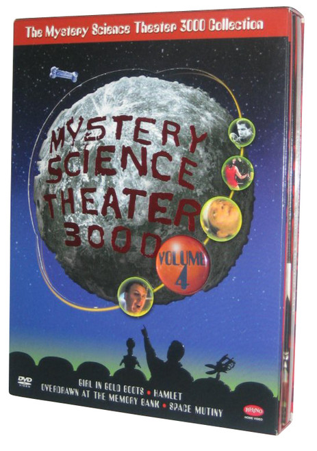 Mystery Science Theater 3000 Collection: Volume 4 DVD Box Set - (Girl In Gold Boots / Hamlet [1961] / Overdrawn At The Memory Bank / Space Mutiny)