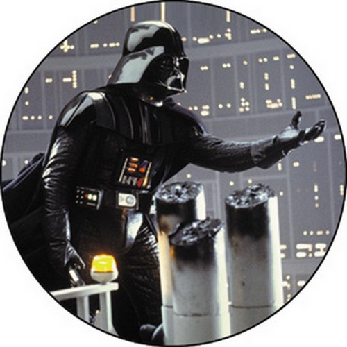 Star Wars Vader Reaching Button B-SW-0037