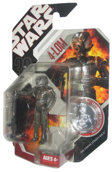 Star Wars 30th Anniversary 4-LOM Action Figure w/ Silver Coin