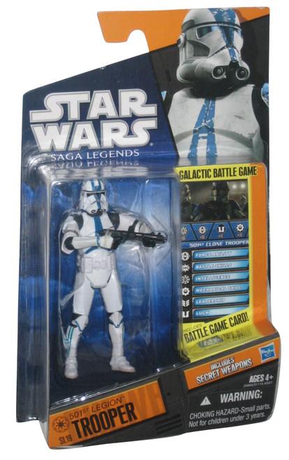 Star Wars 2010 Saga Legends SL No. 19 501st Trooper Action Figure