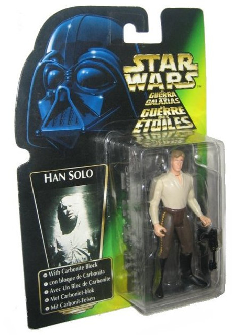 Star Wars Han Solo w/ Carbonite Block Kenner Action Figure