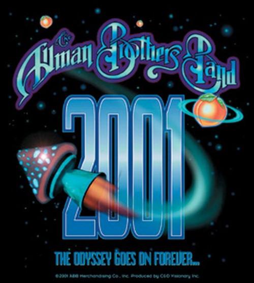 Allman Brothers Rocket Shroom Sticker S-1478
