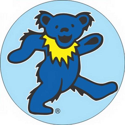 Grateful Dead Dancing Blue Bear Button B-1488