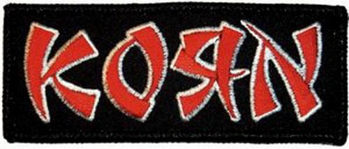 Korn Logo Patch P-0436