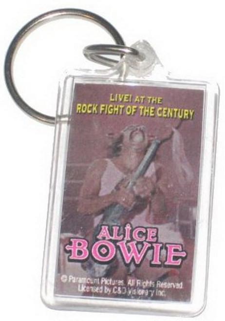Alice Bowie Rock Fight Century Lucite Keychain