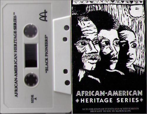 African American Heritage Series Vintage McDonalds Cassette - Black Pioneers