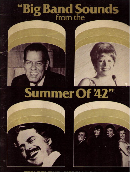 Big Band Sounds From The Summer of '42 Vintage (1980) Book - (Tex Beneke / Helen Forrest)