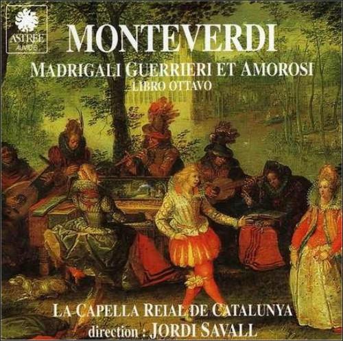 Madrigali Guerrieri Et Amorosi Monteverdi Music CD
