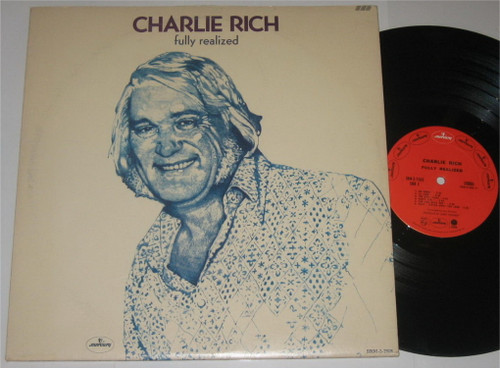 Charlie Rich Fully Realized Vinyl LP Record Album (2 Records)