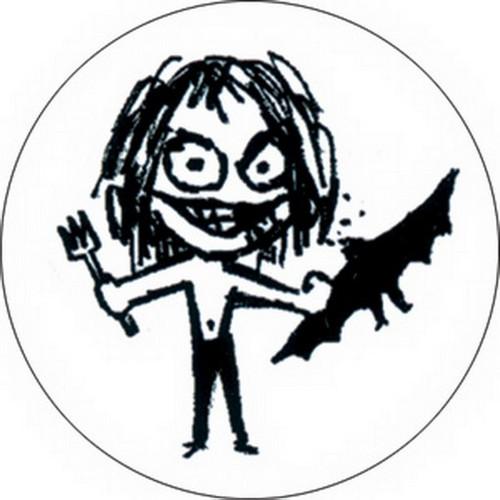 Ozzy Osbourne Bat Button B-1154
