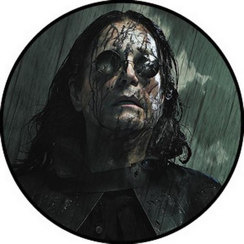 Ozzy Osbourne Face Button B-4346