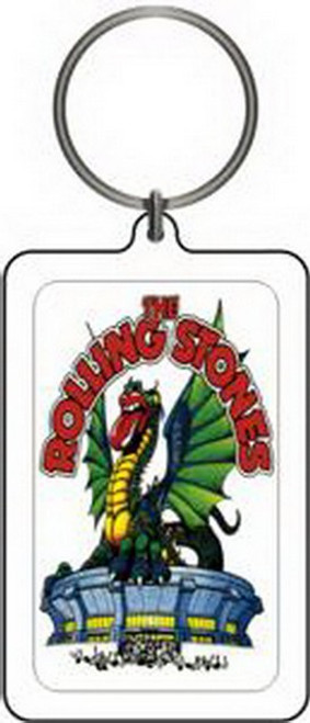 Rolling Stones Dragon Lucite Keychain K-0670